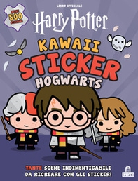 Hogwarts. Kawaii sticker. Harry Potter - Librerie.coop