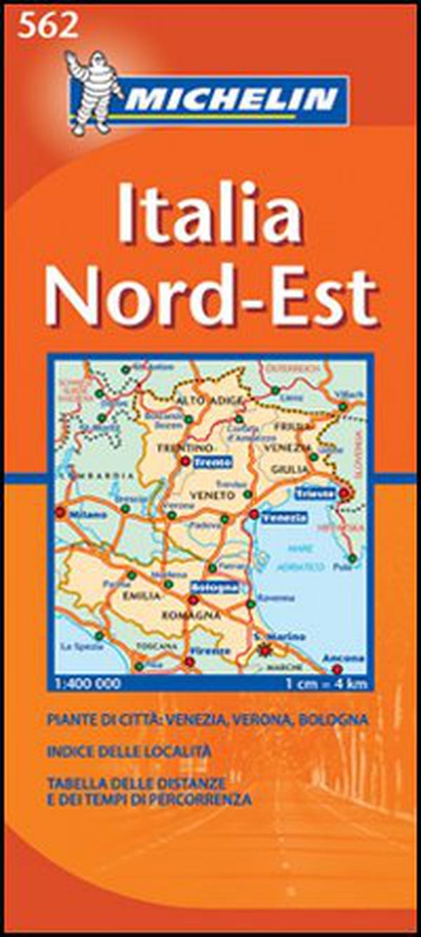 Italia Nord Est Cartina.Italia Nord Est 1 400 000 Librerie Coop Versione Cartine